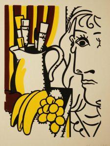 Roy Lichtenstein Classical Still Life, silkscreen print