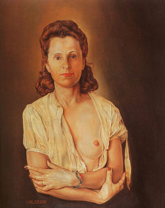 Salvador Dalí, Portrait of Galarina (1940–45)