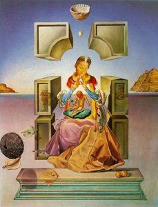 Salvador Dalí - The Madonna of Port Lligat - 1949
